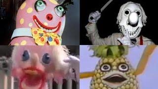 Top 10 CREEPY Children's TV SHOWS - Music Videos