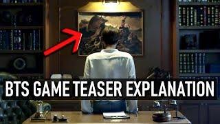 BTS GAME TEASER EXPLANATION | 방탄소년단 New Game Official Concept Art Teaser
