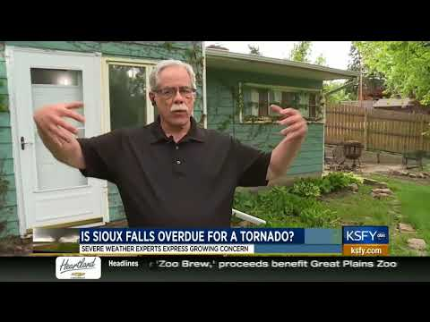Experts worry about decades long gap in Sioux Falls tornado activity 5/21/18 KSFY