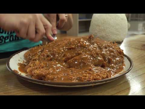 Giant Korean Donkatsu Challenge!