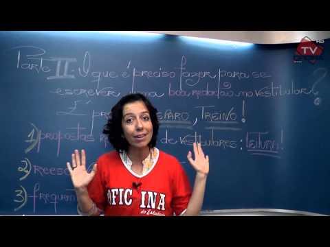 A Redação no Vestibular (aula 2)