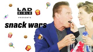 Snack Wars I Arnold Schwarzenegger is VERY passionate about Austrian snacks