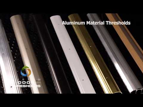 Aluminum Material - Door Thresholds
