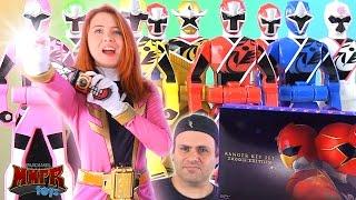 Gokaiger Ranger Key Set 2000th Edition Review! (Power Rangers Ninja Steel)