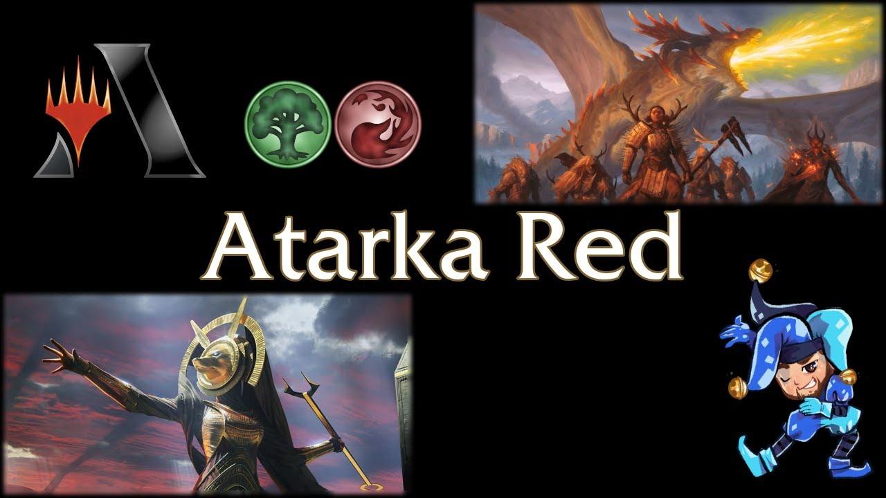 Atarka Red - Historic Magic Arena Deck - June 10th, 2021