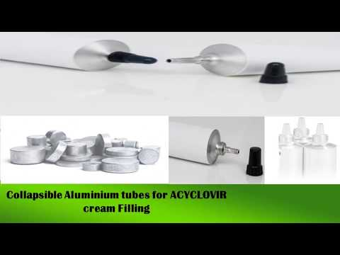 aluminium collapsible tubes specification