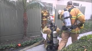 Anaheim Structure Fire