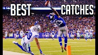 The BEST Catches In Football History    HD