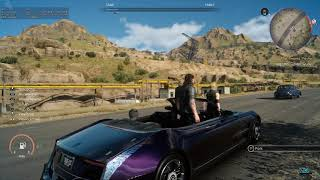 So I booted up FFXV after a while of not playing