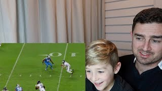 6yo Rugby Fan Reacts to #3 Carson Wentz NFL Top 100 Players 2018