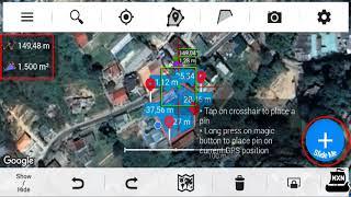 Cách đo diện tích đất bằng điện thoại chính xác nhất bạn nên biết 2019