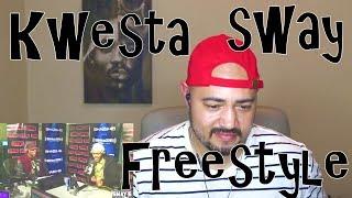 Kwesta full freestyle on Sway Reaction