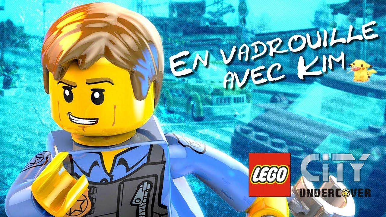 en vadrouille avec kim sur lego city undercover wii u