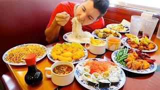 All You Can Eat • Massive Chinese Buffet • MUKBANG