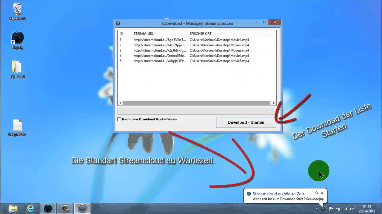Streamcloud Video Downloaden