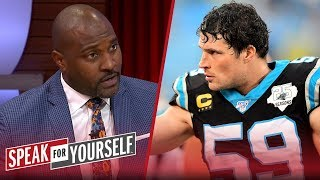 Wiley on Luke Kuechly's retirement at 28: 'Respect to you, Kuechly'   NFL   SPEAK FOR YOURSELF