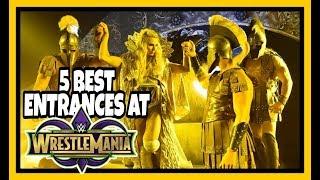 WWE Wrestlemania 34 New Orleans - 5 BEST ENTRANCES!!!
