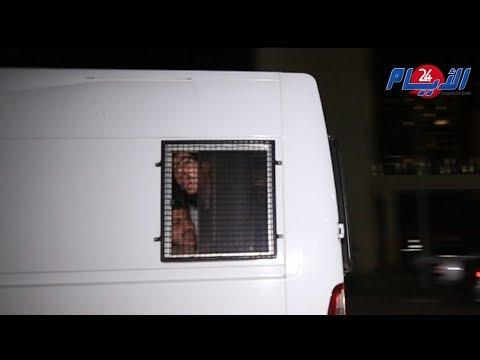 لحظة خروج معتقلي حراك الريف من محكمة الاستئناف