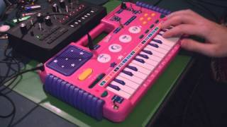 Circuit Bent Barbie Keyboard by freeform delusion