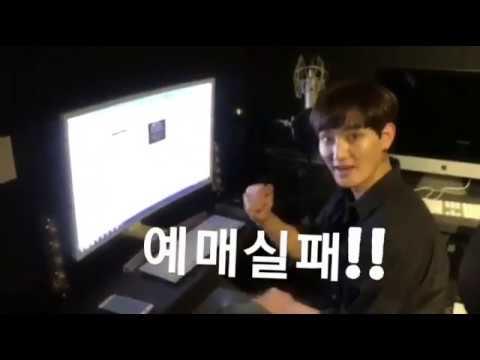 20180907 강타 인스타그램 H.O.T. 콘서트 티켓팅 실패하는 강타