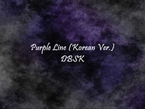 DBSK - Purple Line (Korean Ver.) [Han & Eng]