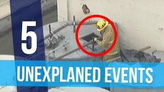 5 Strange Unexplained Events Caught on Camera (Halloween Special)