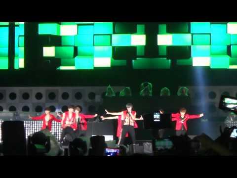 120626 EXPO Pop Stage- Infinite- Be Mine