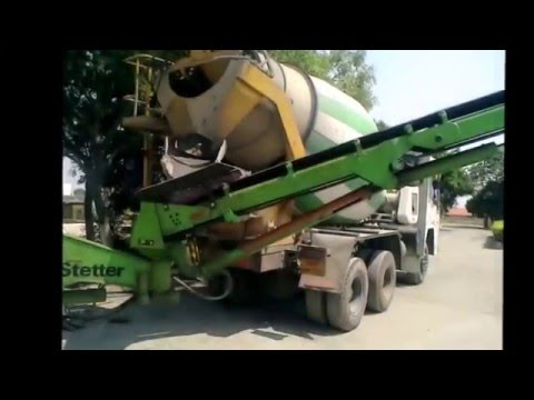 SCHWING Stetter F12 Belt Conveyor (Demo Video)