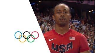Aries Merritt (USA) Wins 110m Hurdles Gold - London 2012 Olympics