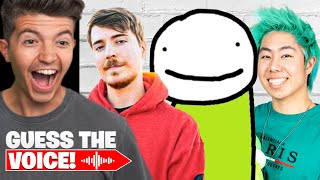 Guessing YouTubers Using ONLY Their Voice!