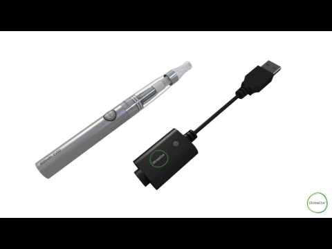 iBreathe - Lite Electronic Cigarette - Product Overview & Instructions