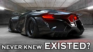 SUPERCARS & HYPERCARS - YOU DIDN'T KNOW EXISTED! [P2]