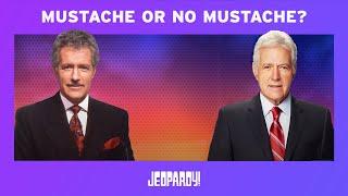 Jeopardy! | Mustache or No Mustache?
