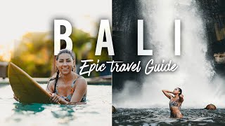 EPIC Bali Travel Guide: Surfing, Hidden Beaches Waterfalls, & Hiking!