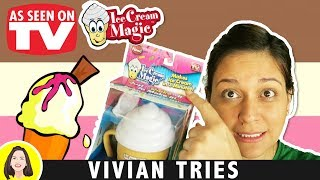 Ice Cream Magic Personal Ice Cream Maker Review, Testing As Seen on Tv Products