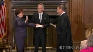 Elena Kagan Sworn in at Supreme Court