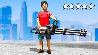 Playing GTA 5 AS 12 YEAR OLD!