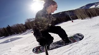 Jamie Anderson's Living The Dream Ep 5 - NYC to the US Open