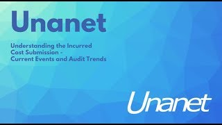 Understanding the Incurred Cost Submission - Current Events and Audit Trends