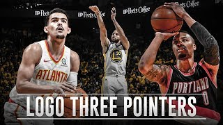 Longest NBA Three-Pointers - FROM THE LOGO!