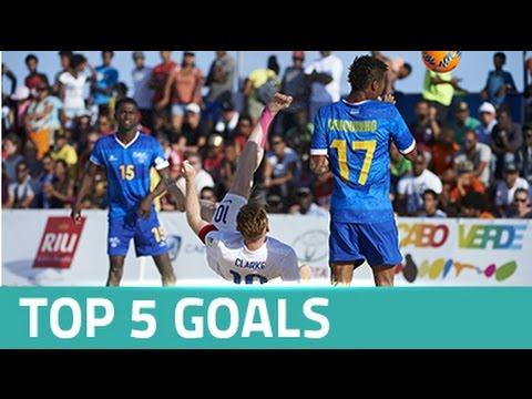 Top 5 goals - Sal Beach Soccer Cup 2016