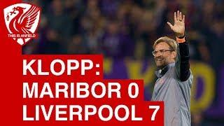 Maribor 0-7 Liverpool | Jurgen Klopp Post Match Press Conference