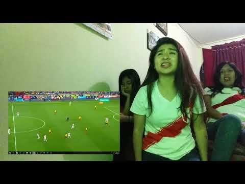 VIDEO REACCIÒN PERÙ 1 VS COLOMBIA 1