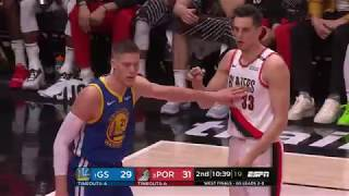 Trail Blazers 99, Warriors 110 | Game 3 Highlights | Western Conference Finals