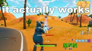 I tried using DOUBLE PUMP in Fortnite Season 6, and it actually WORKED...