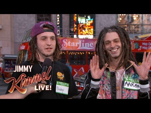 Jimmy Kimmel Guesses 'Who's High?'