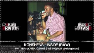 Konshens - Inside (Raw) Goosebumps Riddim - June 2013
