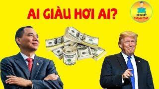 Tỷ Phú Phạm Nhật Vượng Giàu Gấp Đôi Donald Trump? Hành Trình Tăng Trưởng Thần Tốc Của VINGROUP