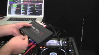 RANE SL-4  DJ Interface in action