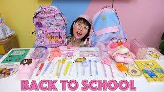 Khui Hộp Set Dụng Cụ Học Tập Back To School